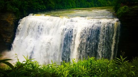 """""""The Water that Flows"""". Taken at Letchworth State Park, NY."""