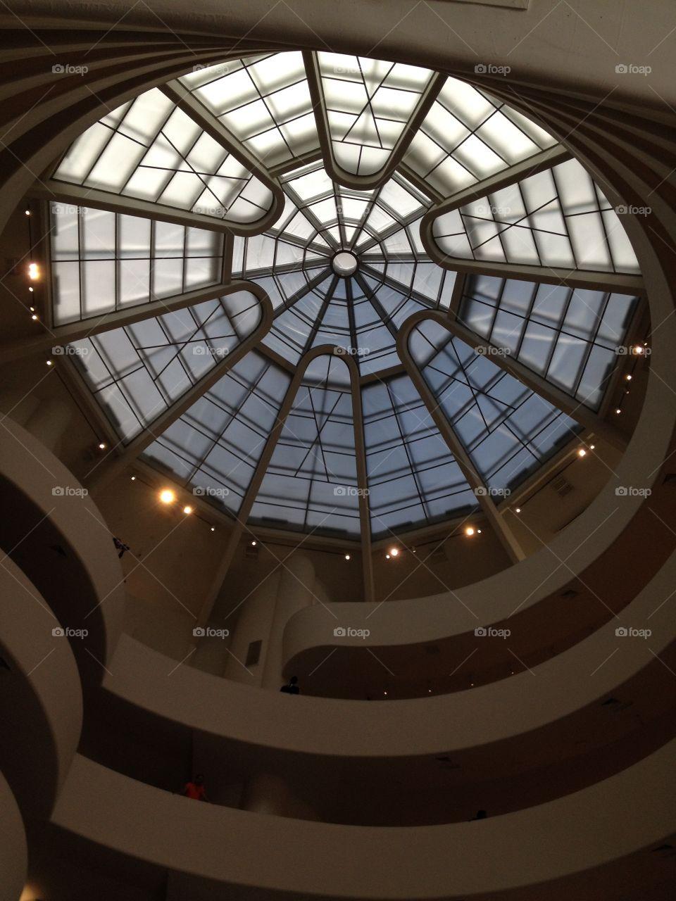 Guggenhein museum. New york
