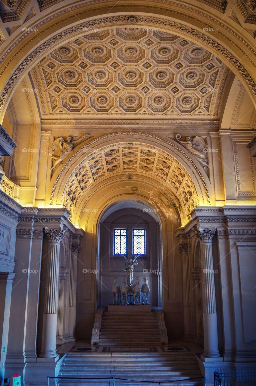 Interior del Monumento a Victor Manuel II, Altare della Patria (Roma - Italy)