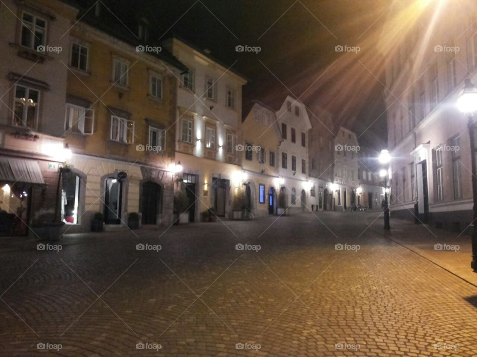 City night Ljubljana