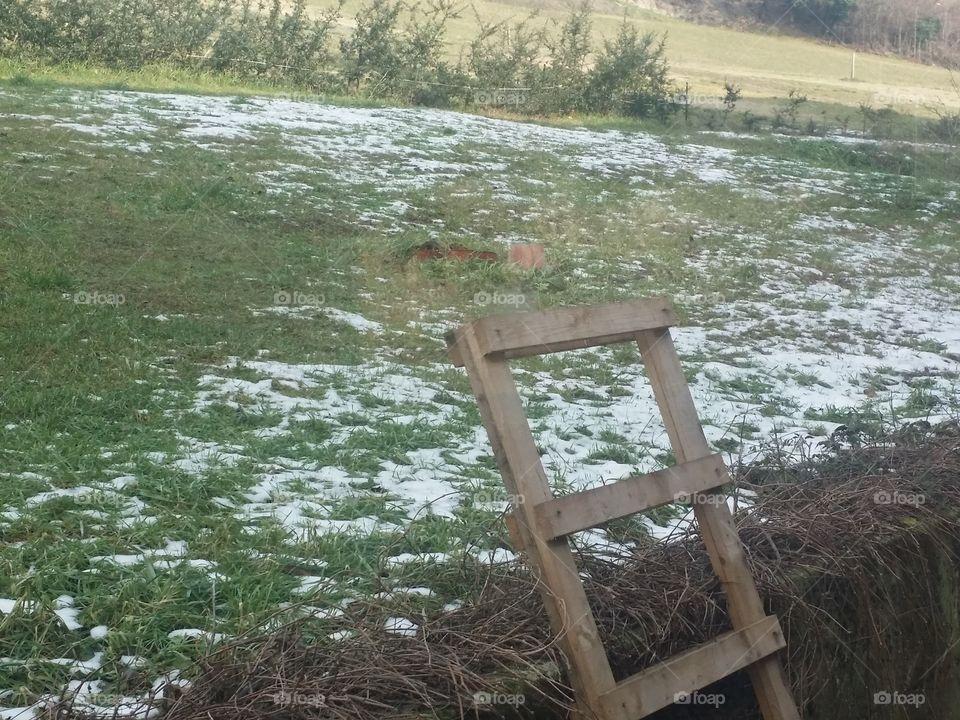 A bit of snow