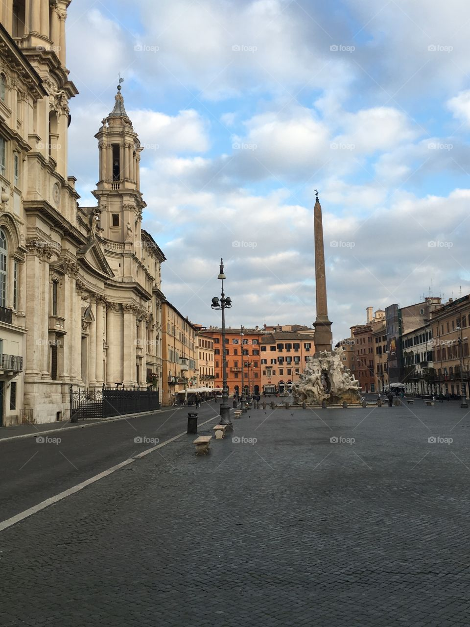 View of Piazza Navona, Rome,Italy