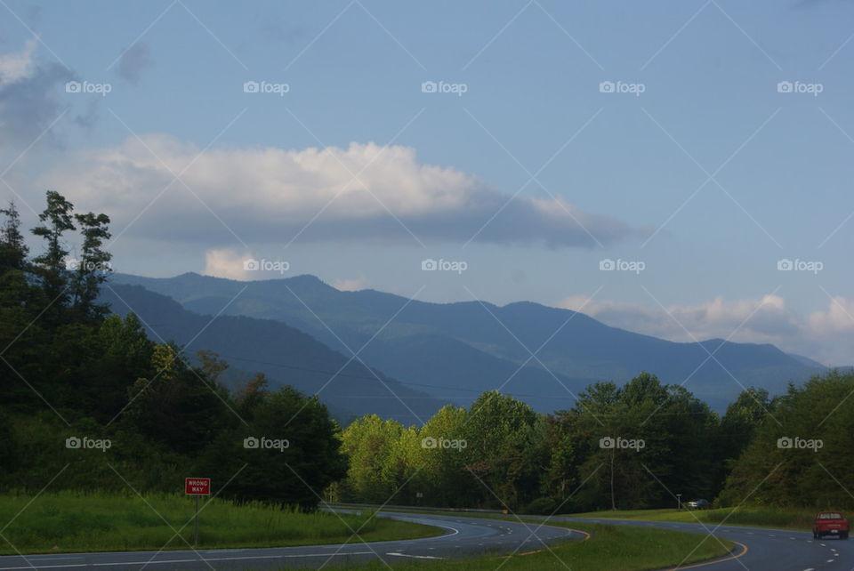 Smokey mountains hwy