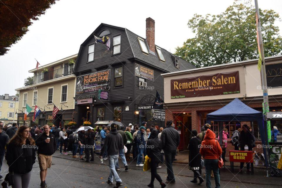 Downtown Salem Massachusetts