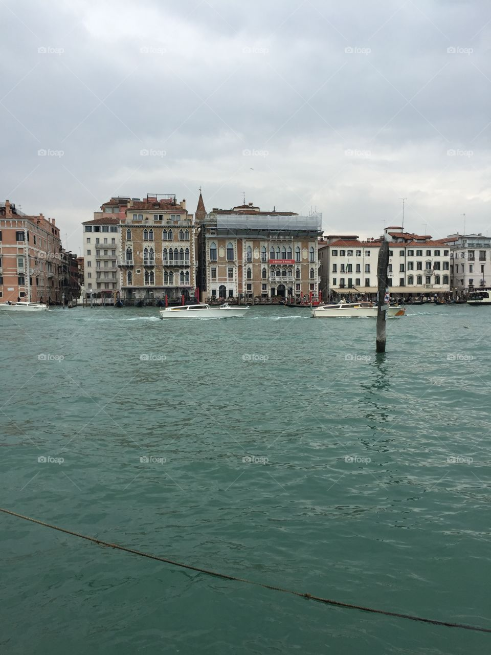 A View.  Venice, Italy