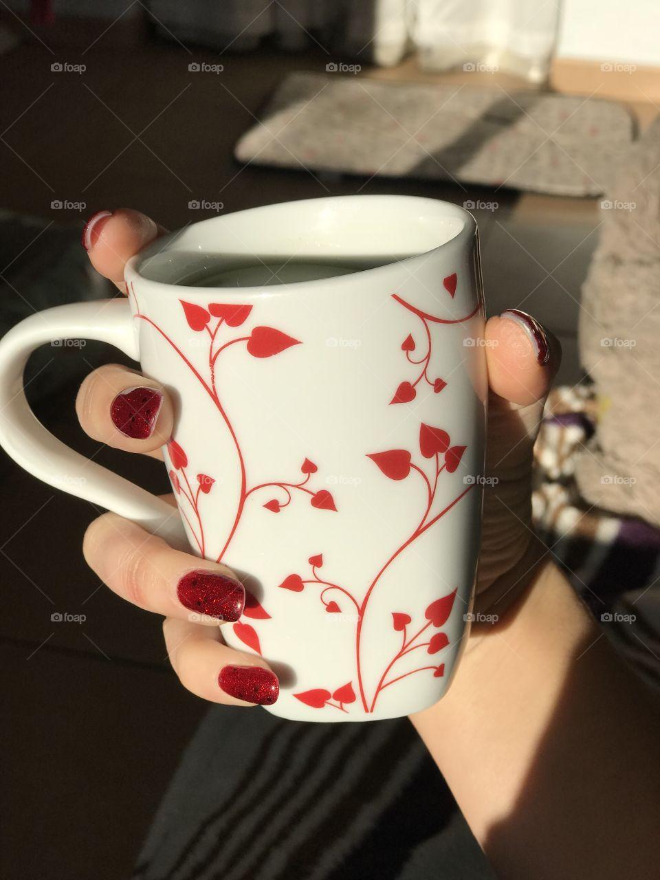 Cup of tea matcha