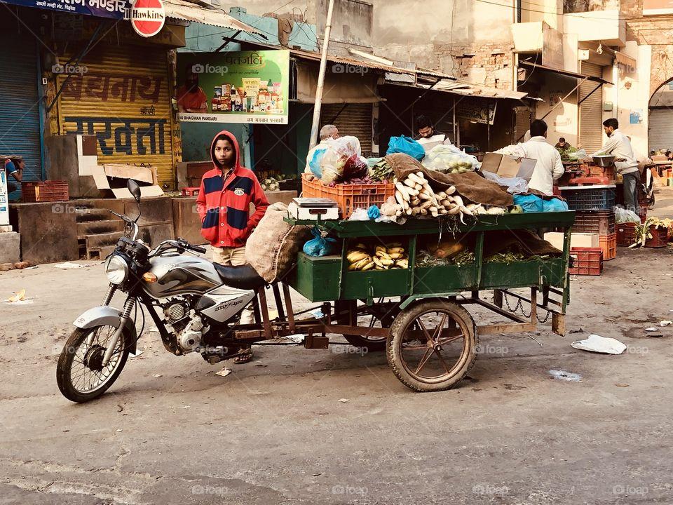 Street Vendors (INDIA)
