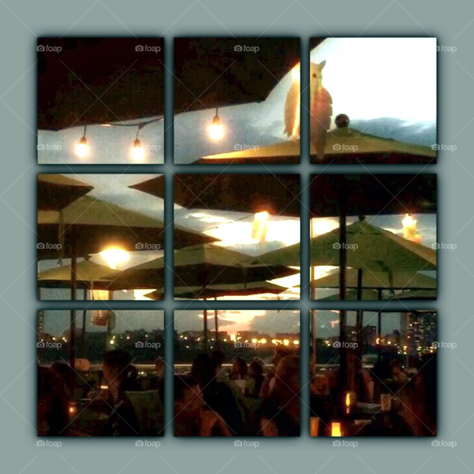 Pier 1 Cafe - Riverside Park, Hudson River, New York City.