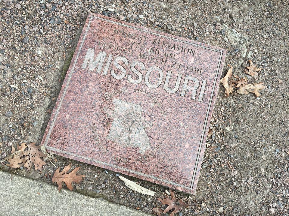Missouri Highest Elevation