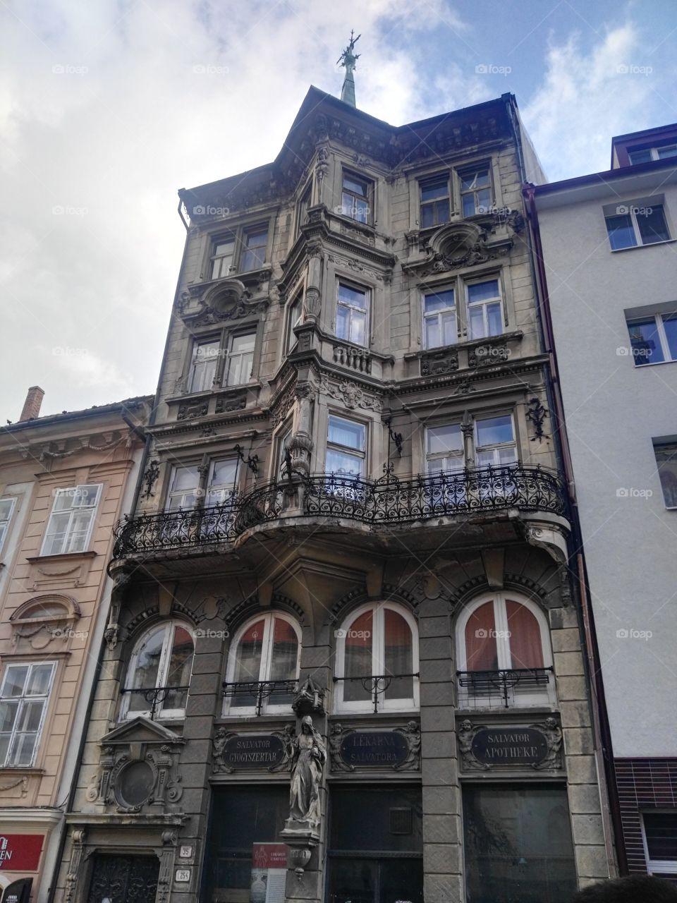 An old hungarian pharmacy in Bratislava