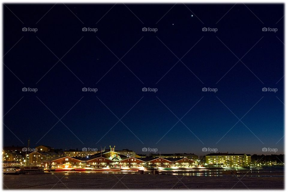 city night myluleamoment town by isacsfoto
