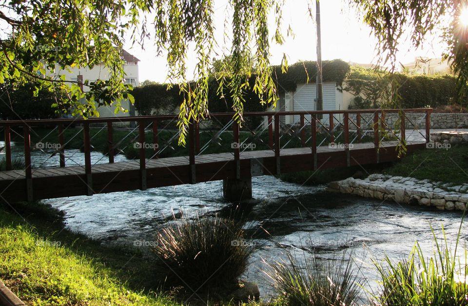 A Bridge Over The River Jadro