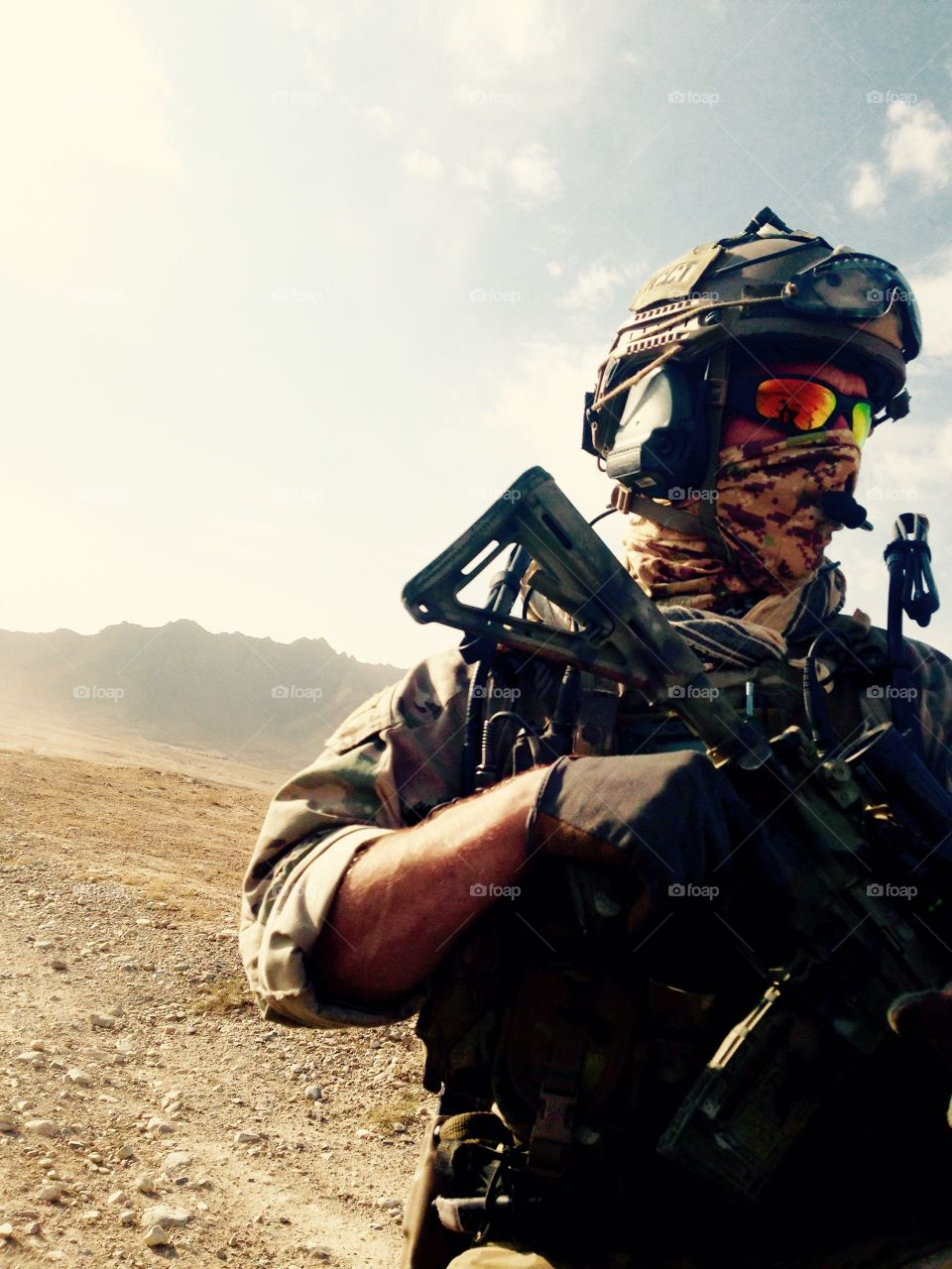Special Operator near Kabul Afghanistan