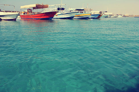 saudi arabia red sea red boats water by w9aly