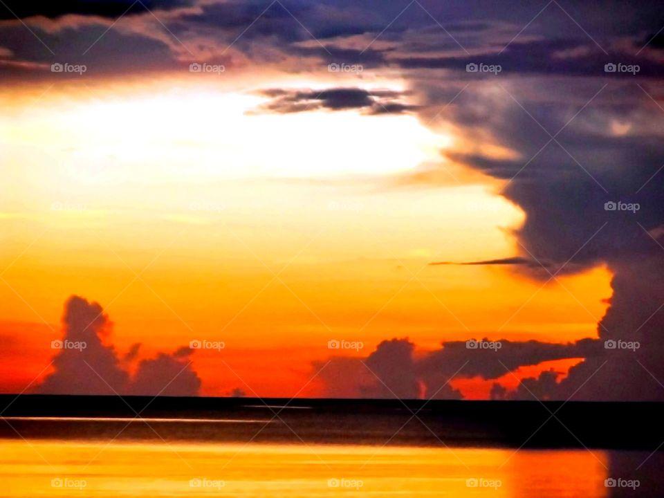 Beautiful Sunset | The Sea Of Black River