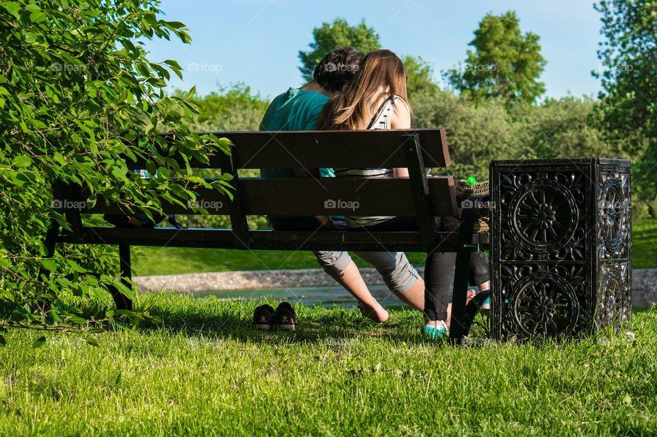 Grass, Summer, Outdoors, Nature, Park