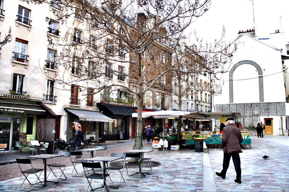 street market paris mouftard b