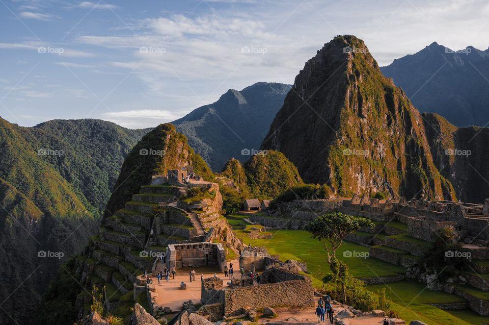 Michu Picchu sunset