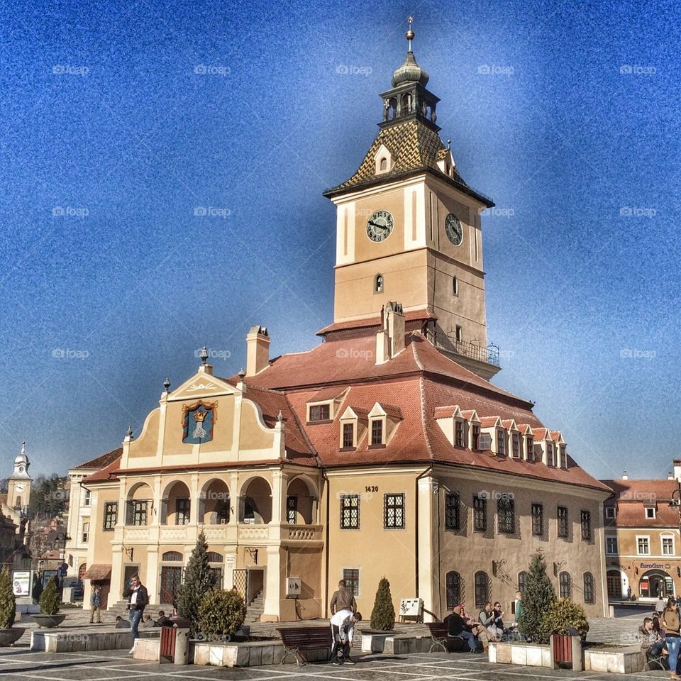 Council House, Brasov, Transylvalia, Romania