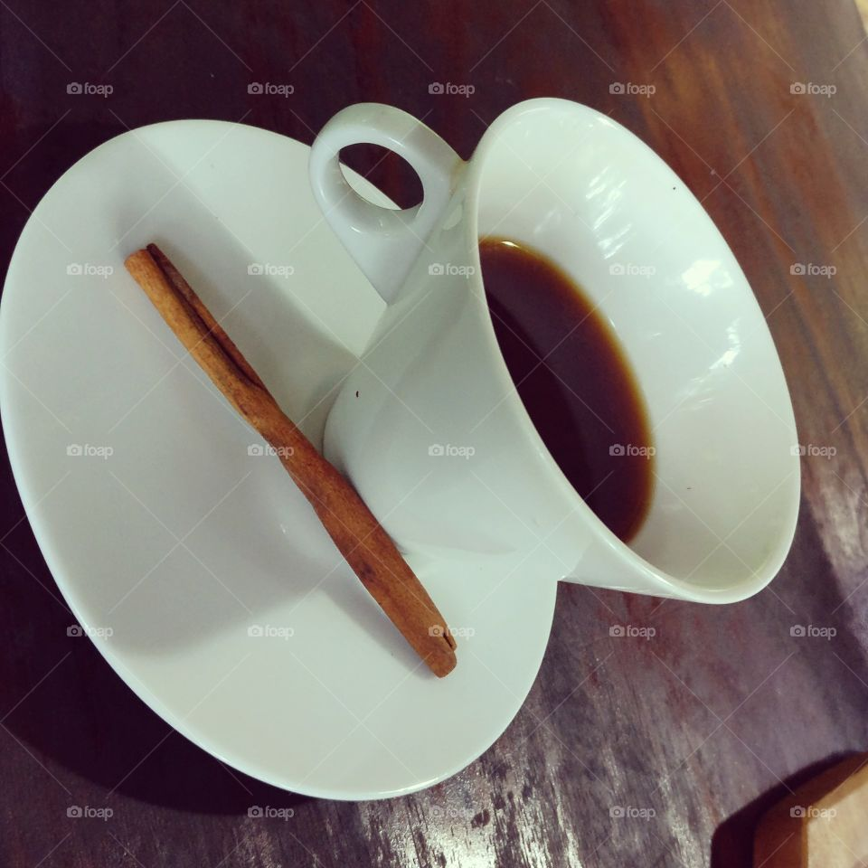 Morning coffee is my way of meditation that allows me to keep up with the rush of today's world.