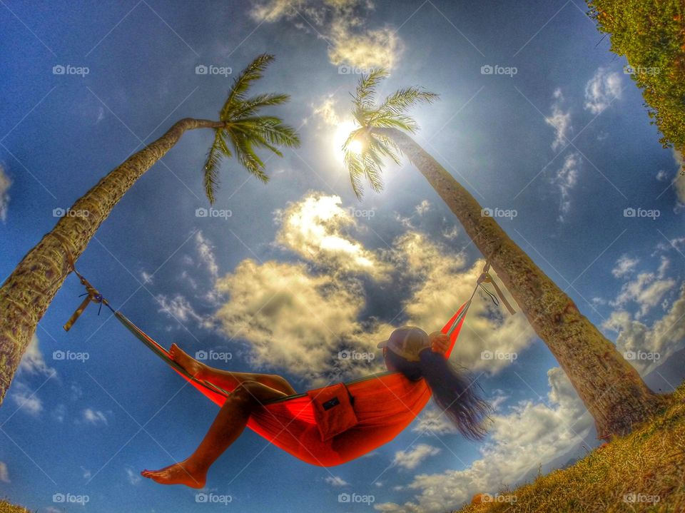 My version of lazy day! Nothing compares to the comfort of a comfy hammock and outdoor fresh air :)