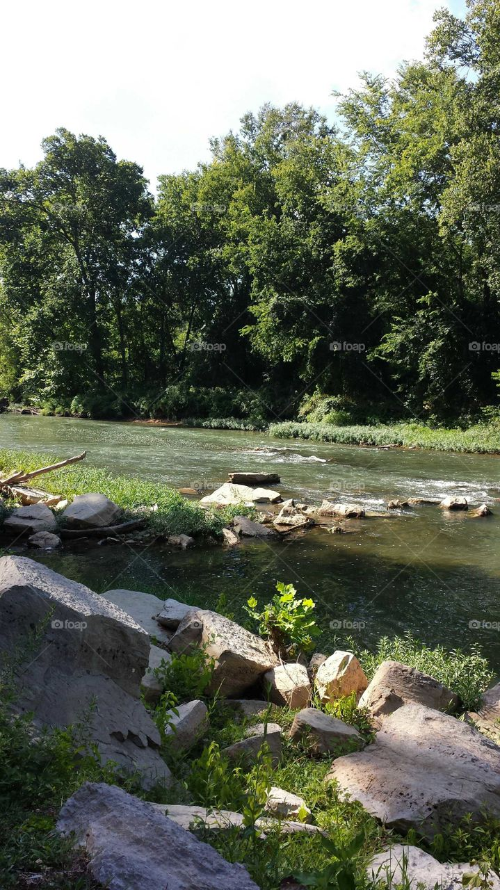 Buffalo River at Grimes Boy Scout Camp