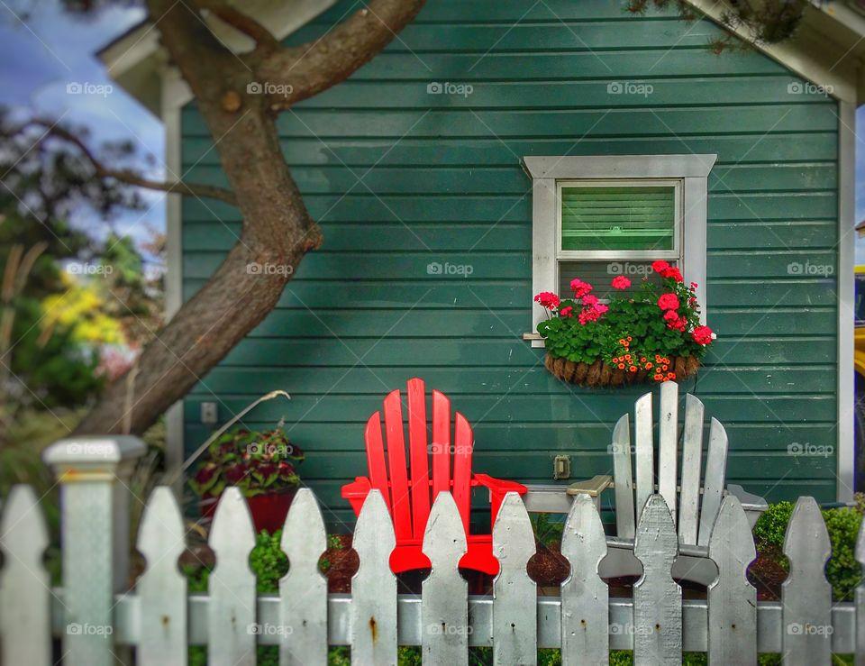 Beautiful Cottage by thee Sea! Perfect Wall Decor, Garden Art, Beach Art