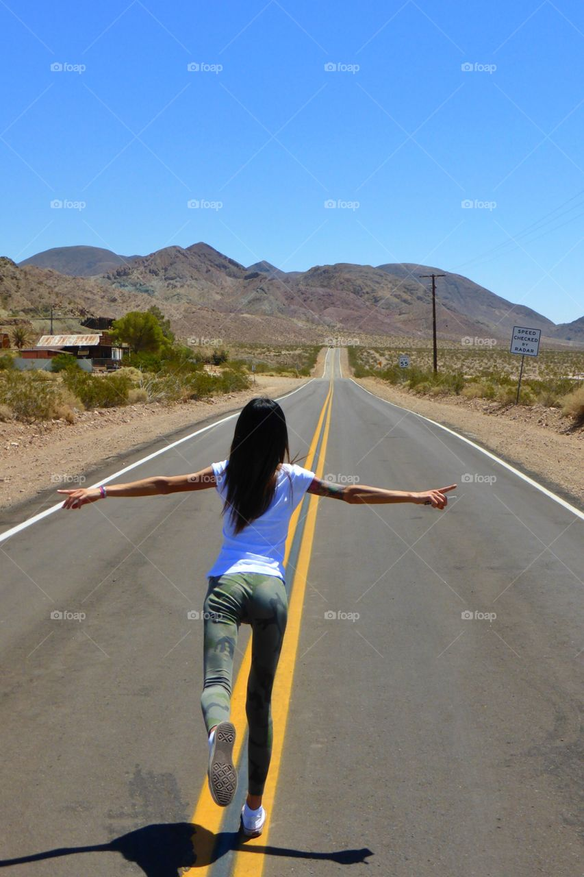 Dreaming the route66. Dreaming the route66