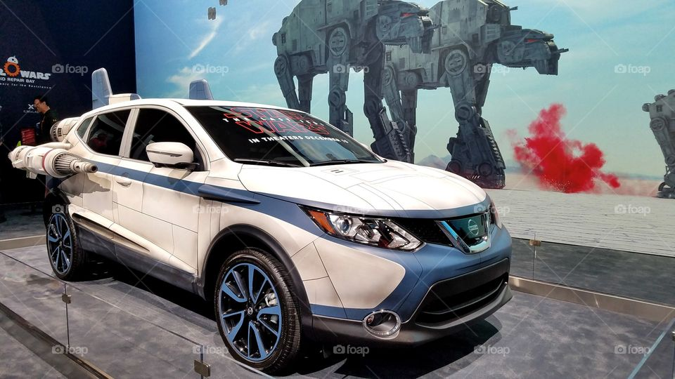 Nissan Star Wars truck