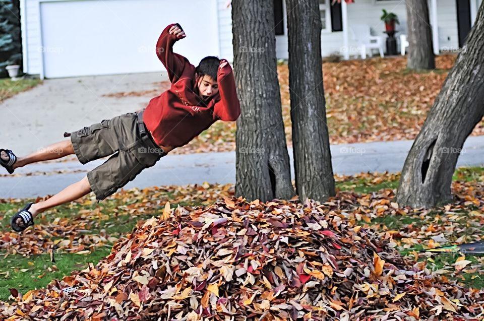 Enjoying The Fall. Enjoying The Fall