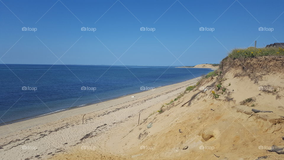 Sand, Beach, Water, No Person, Seashore
