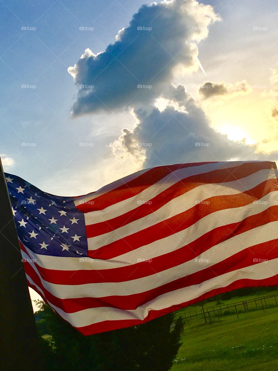 Sunset America