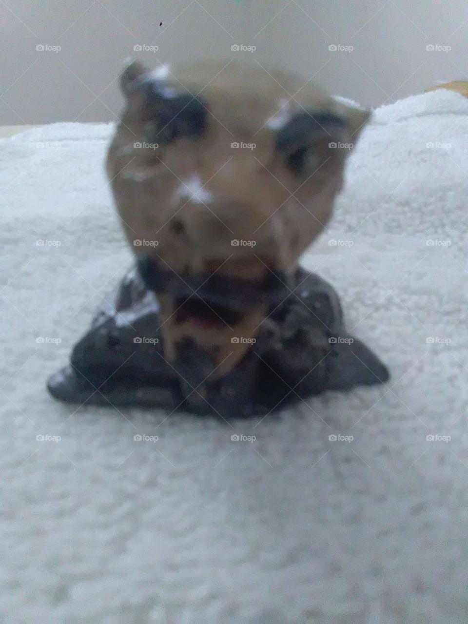 Clay Creations.  Vampire man