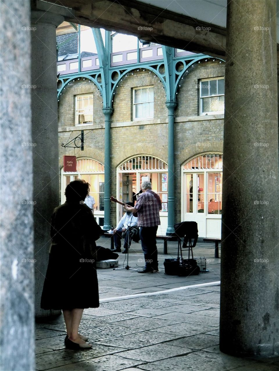 Musician at Covent Garden
