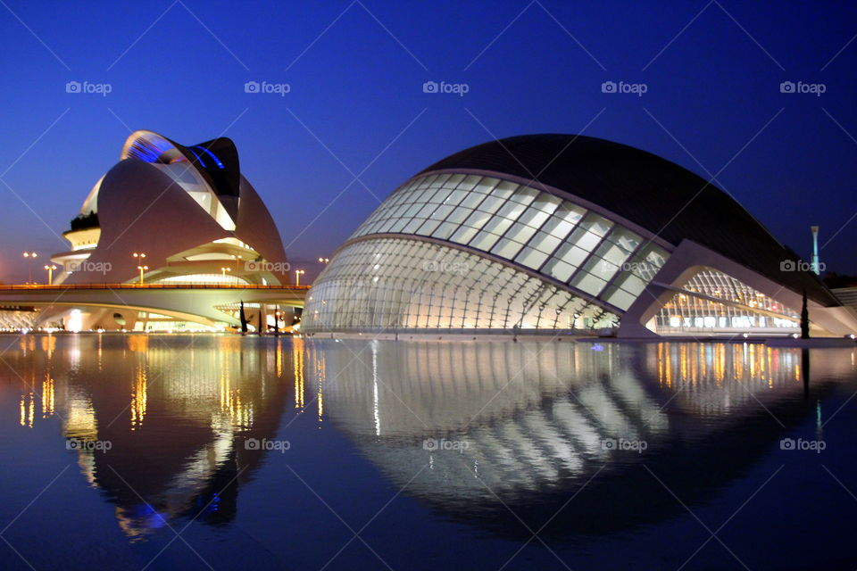 design structures reflecting into the water