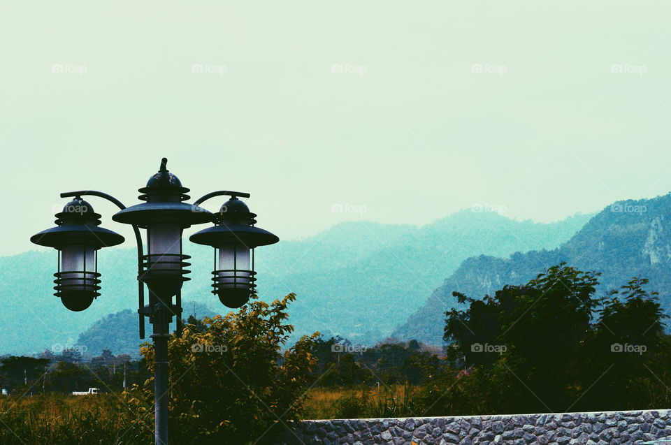 Horizon views . mountain view in Khao Yai, Thailand