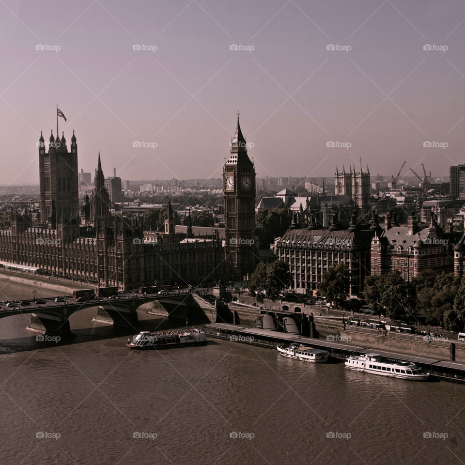 london town parliament river by olijohnson