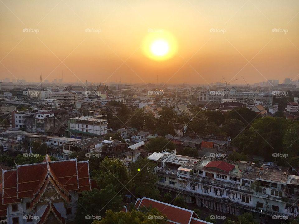 Sunset Bangkok