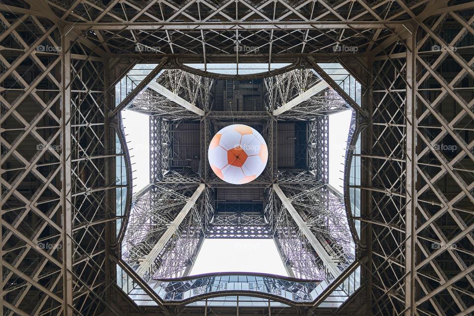 Tour Eiffel. UEFA Euro 2016