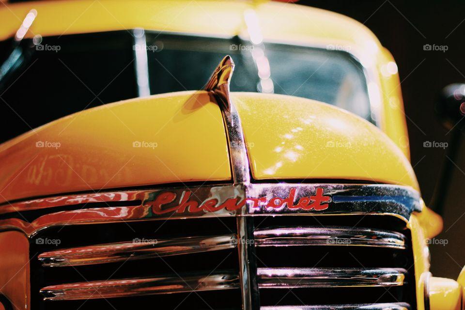 Chevy yellow