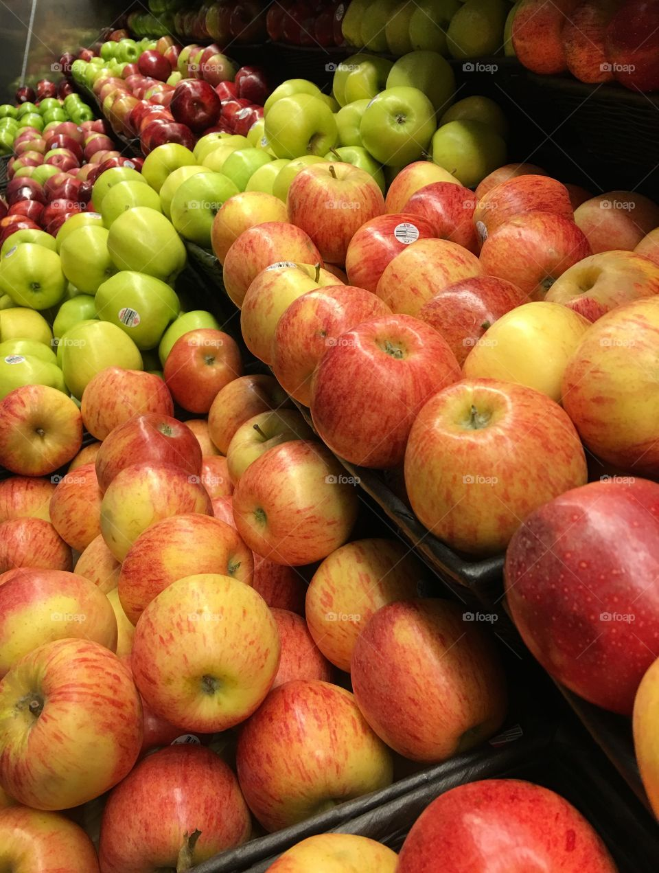 Apples Different Kinds, Different Colors