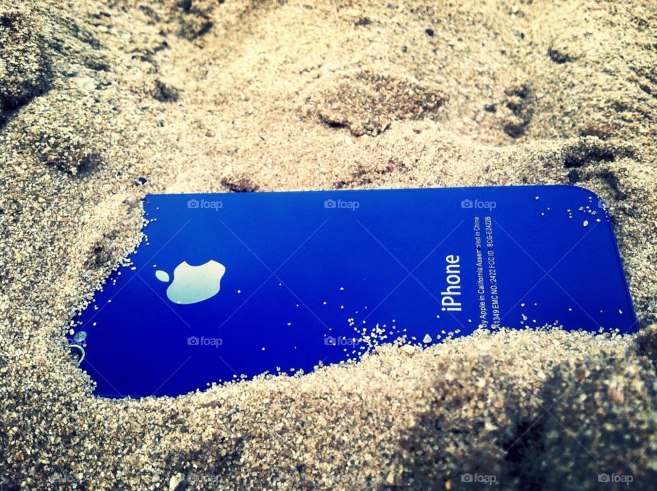 beach blue sand iphone by ohmygoditsxavier