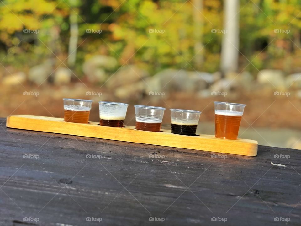 Craft beer brewery brewing beer flight beers drink local craft beer