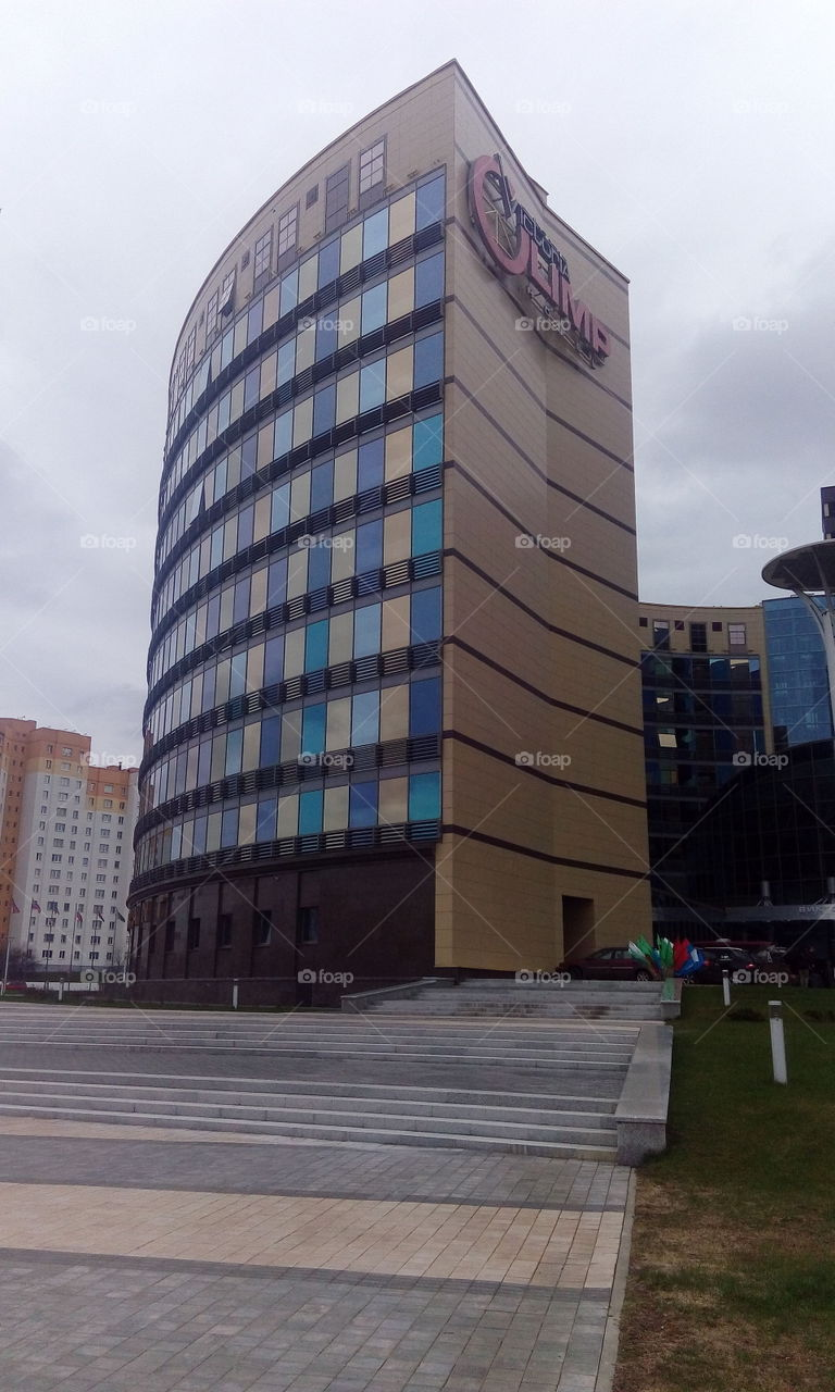 racurs of building