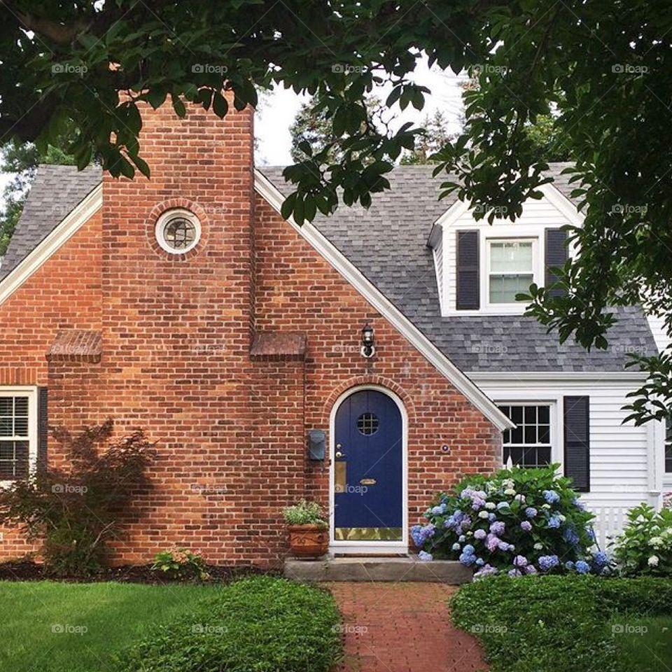 New England Tudor Home