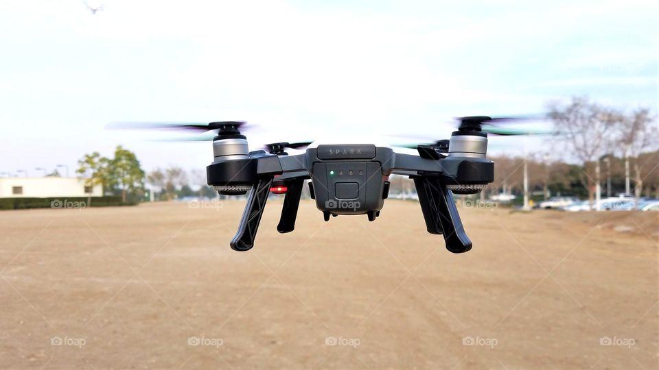 Howering drone