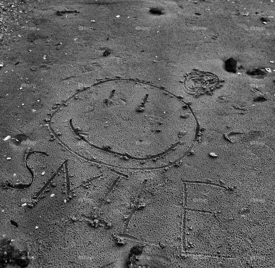 SMILE....Lines in the Sand