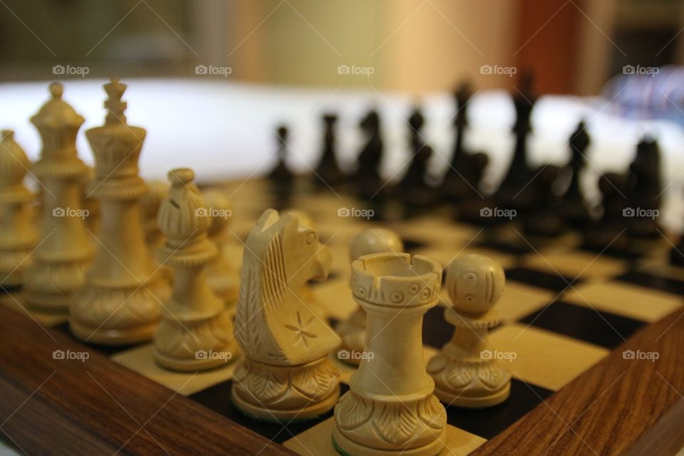 Chess. Chess on chessboard