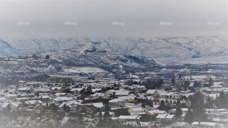 Winter time in Omak