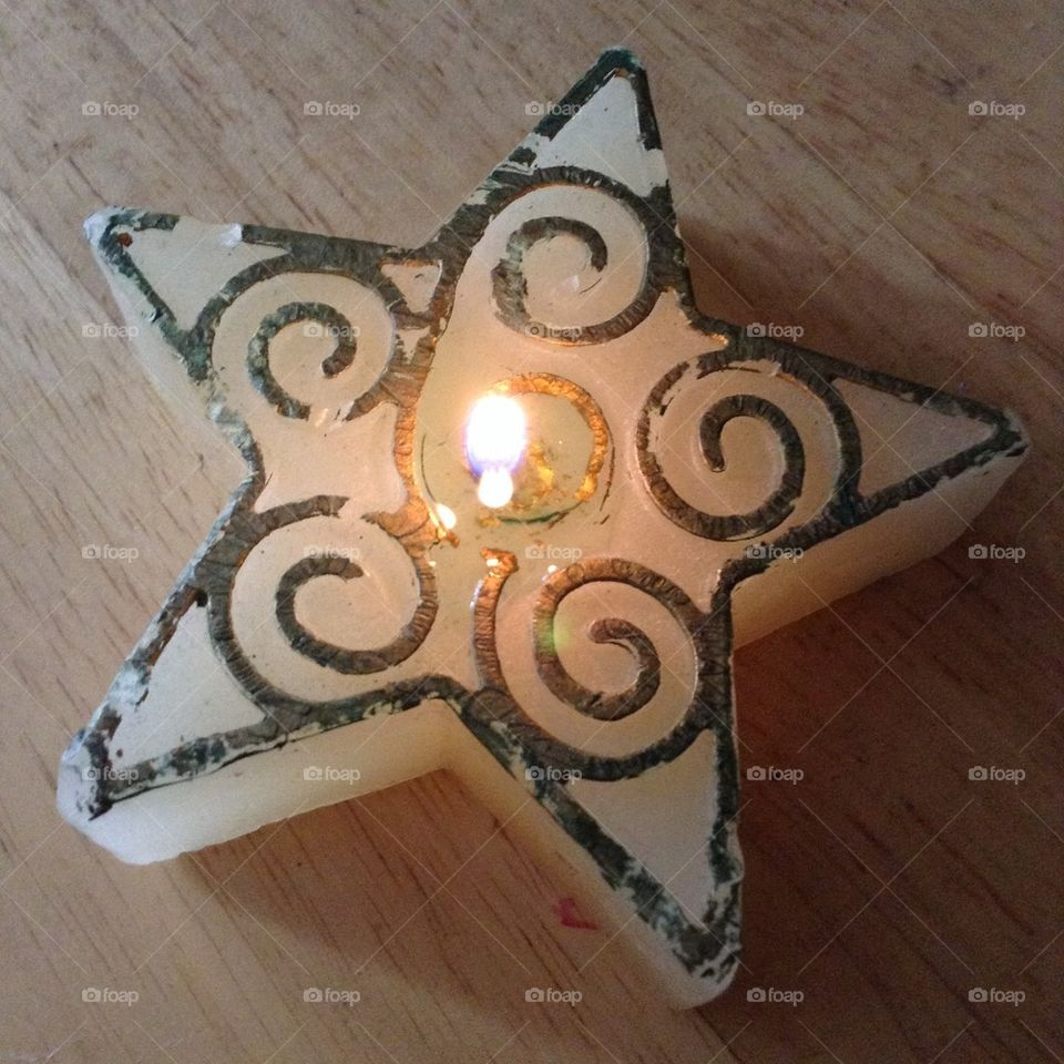 Starlight candle